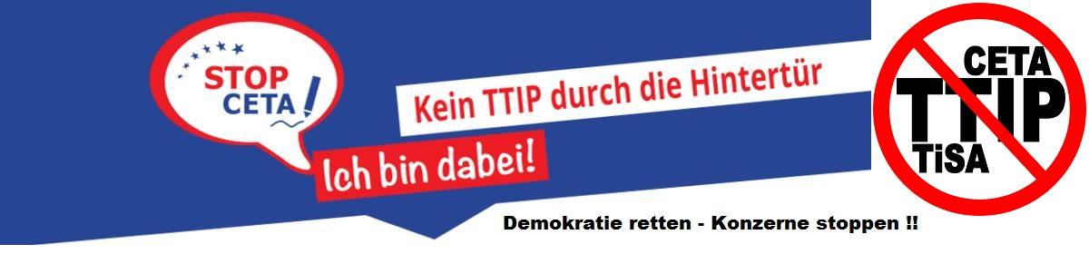Bündnis Stop TTIP Ansbach Stadt und Land